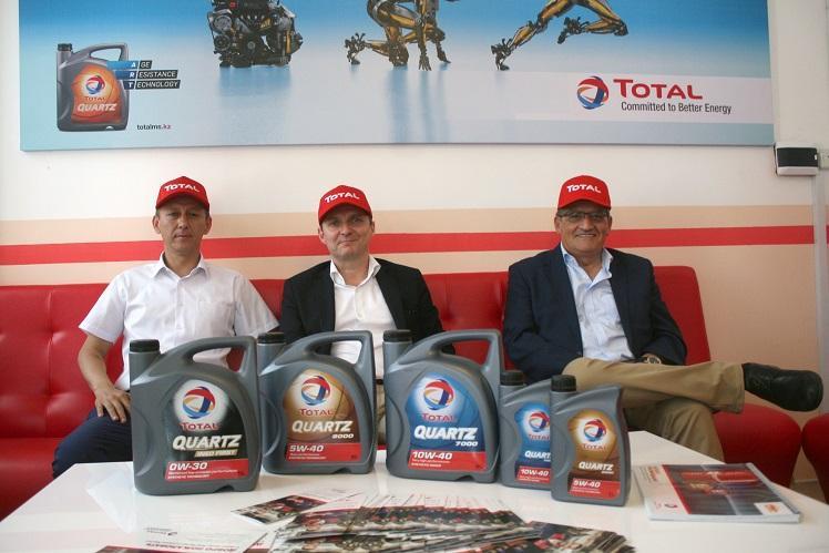 В Алматы появился первый автосервис Total Quartz!