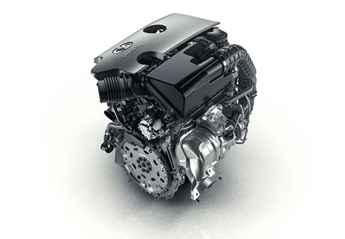 Infiniti выпустила статью, в которой был представлен новый двигатель VC-T