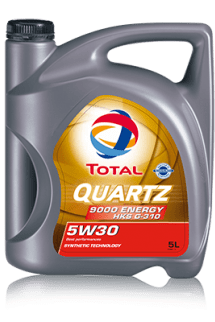TOTAL QUARTZ 9000 ENERGY HKS G-310 5W-30